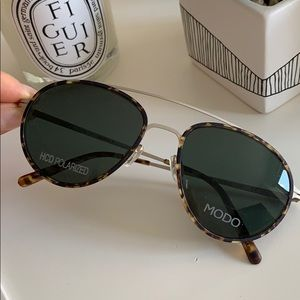 MODO 680 sunglasses tortoise NWT retail$315